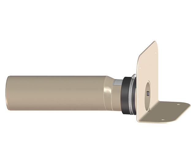 HL68F.0/110 Парапетная воронка с фланцем и отводящей трубой из ПП DN110 для ТПО-гидроизоляции