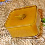 Квадратная прозрачная восковая чайная свеча для аромаламп и лампадок; натуральный пчелиный воск, фото 6