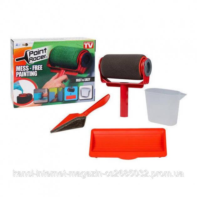 Набор для покраски Top Shop Paint Racer 2 в 1, валик с резервуаром для краски