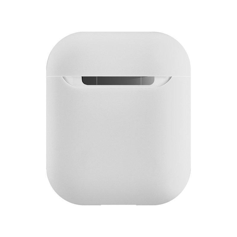 Coteetci Liquid силиконовый чехол белый для Apple AirPods