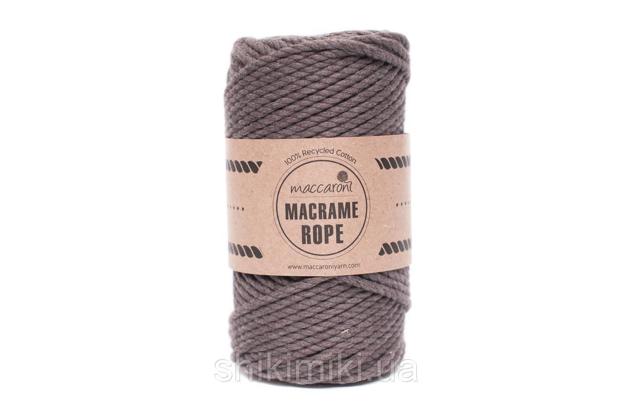 Эко шнур Macrame Rope 4mm, цвет Визон