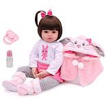 Кукла Reborn Baby 47 см Boneca, фото 2