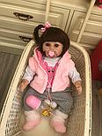 Кукла Reborn Baby 47 см Boneca, фото 4