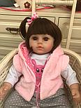 Кукла Reborn Baby 47 см Boneca, фото 5