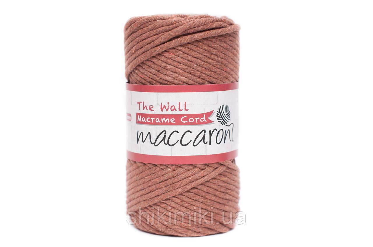 Эко шнур Macrame Cord 3 mm, цвет Терракотовый