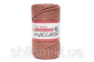 Еко шнур Macrame Cord 3 mm, колір Кориця