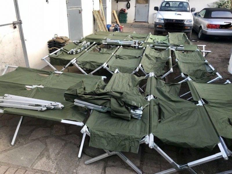 Новая поставка оригинальных армейских кроватей Великобритании