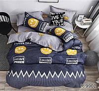 Полуторный комплект постельного белья с компаньоном R9902