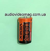 Батарейка R14 (тип С) 1.5V Videx, солевая