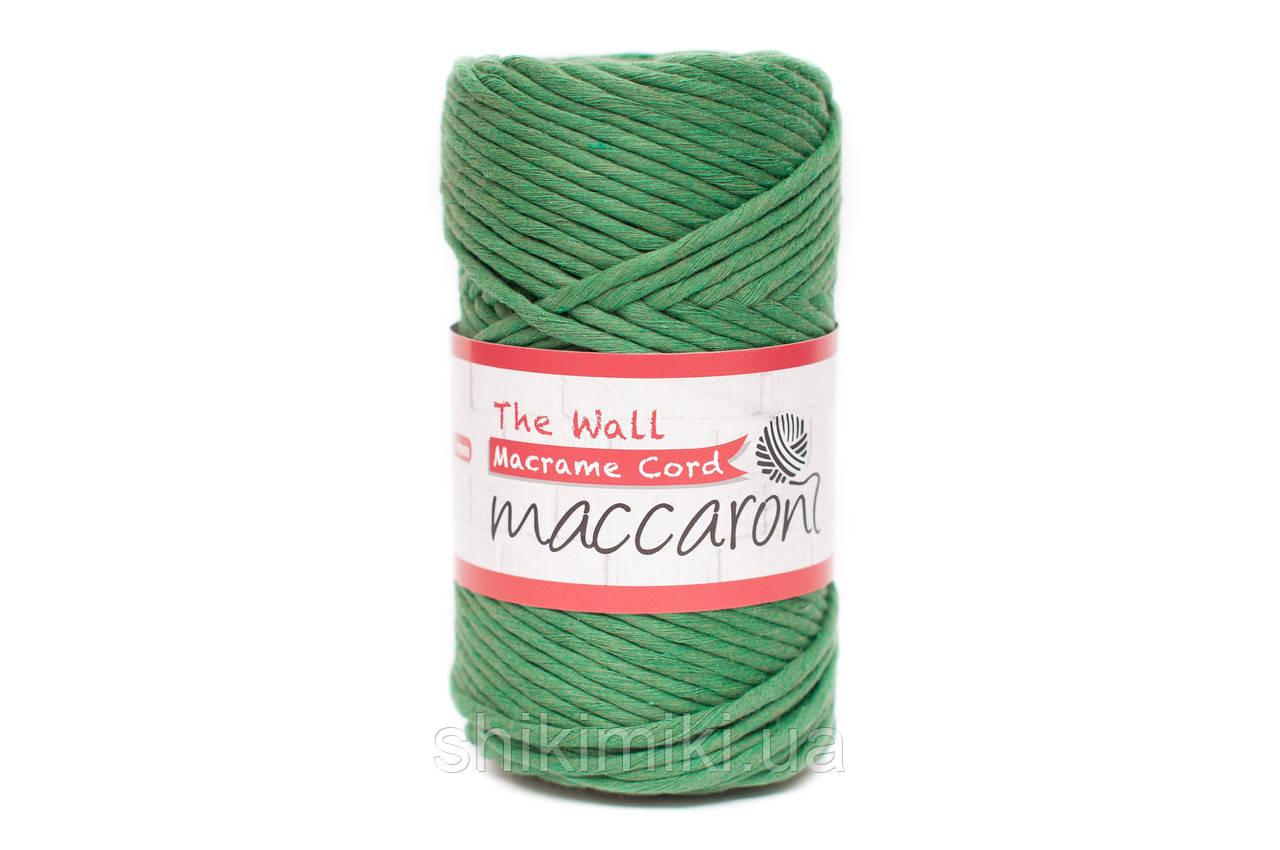 Эко шнур Macrame Cord 3 mm, цвет Трава