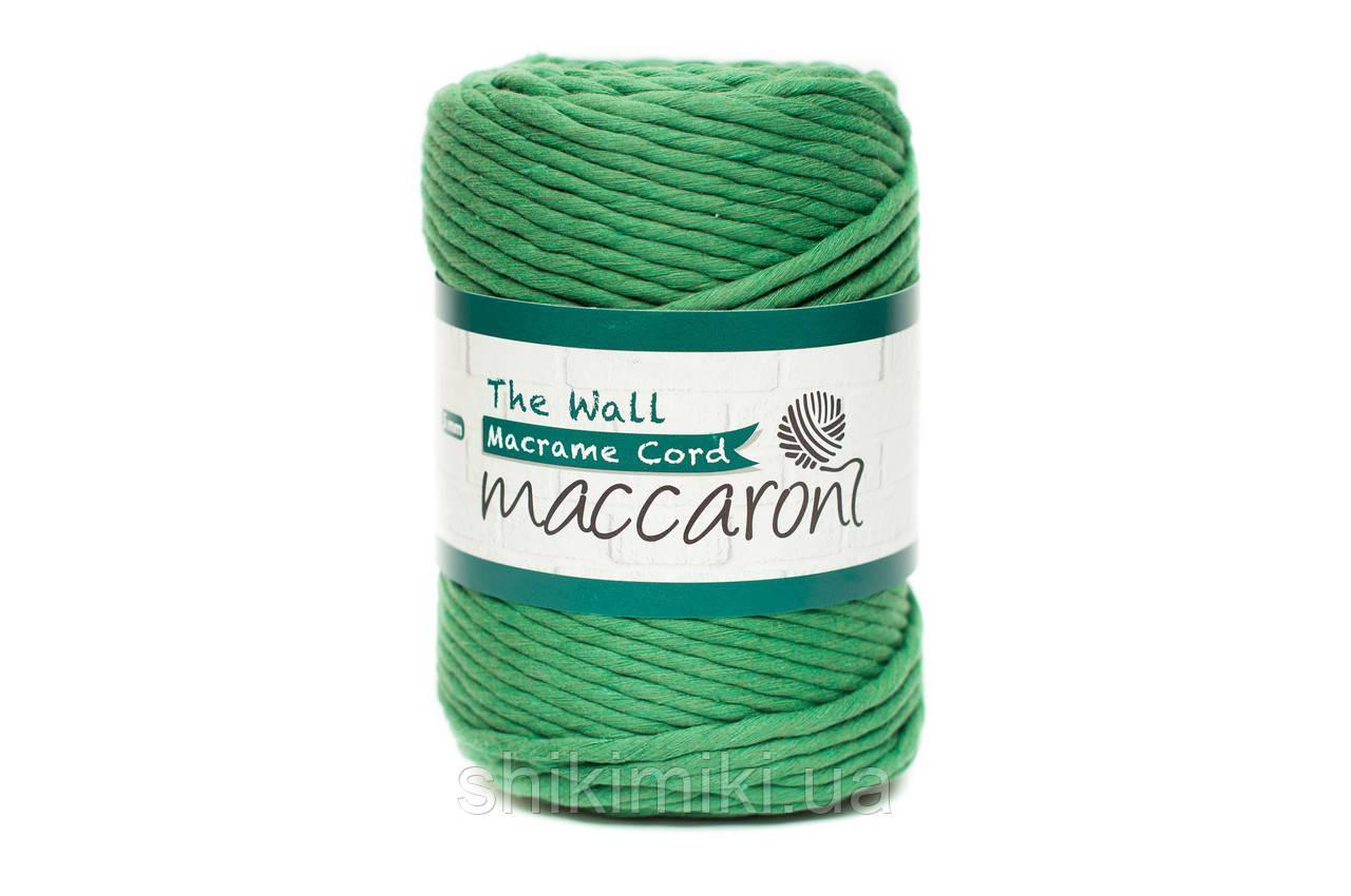 Эко шнур Macrame Cord 5 mm, цвет Зеленый