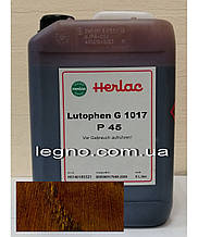 Нитрокраситель Лютофен Р45 (бейц, морилка, пропитка, краситель) Черешня 5 л Herlac, Германия