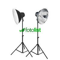 Набор постоянного света Visico FL-304 Easy Kit, 8х30w, 1200 Вт, 5500К