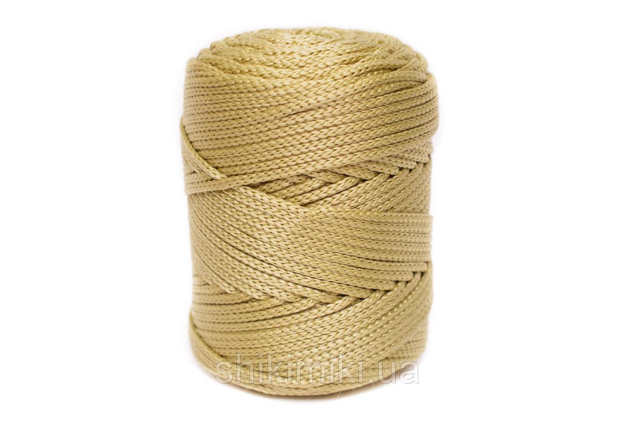 Трикотажный полипропиленовый шнур PP Cord 5 mm, цвет Оливковый