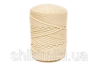 Полипропиленовый шнур PP Cord 5 mm, цвет Пломбир