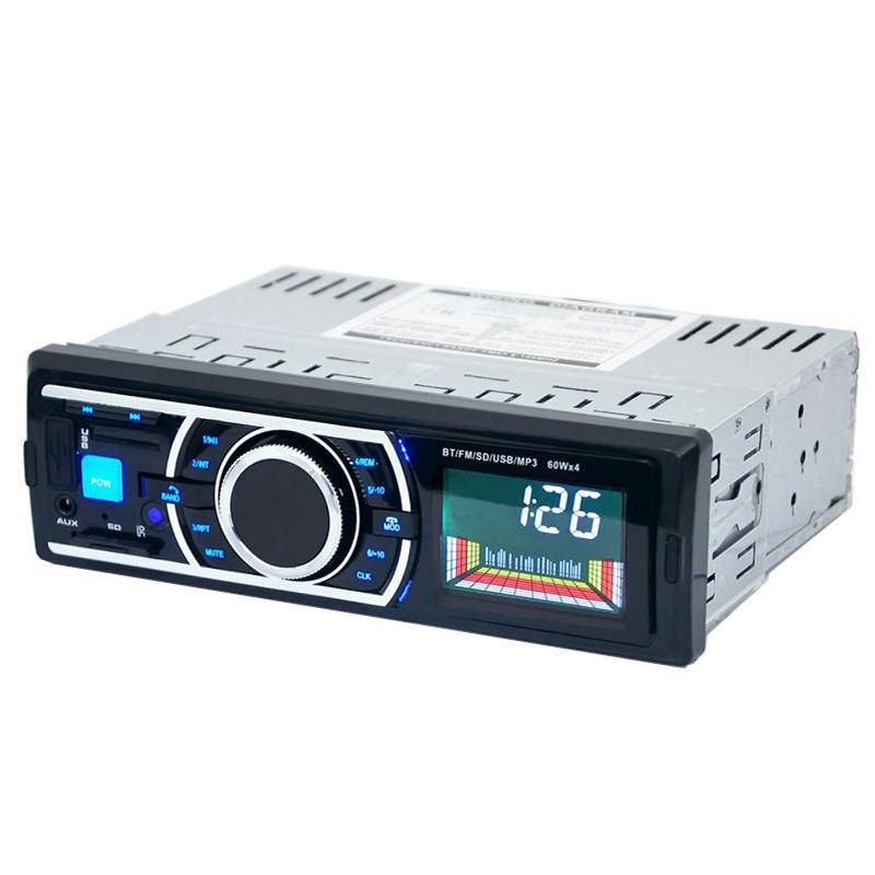 Автомагнитола Lesko 6203 1Din Bluetooth с USB/FM радио/SD автомобильная музыкальная + пульт ДУ (2586-6951)