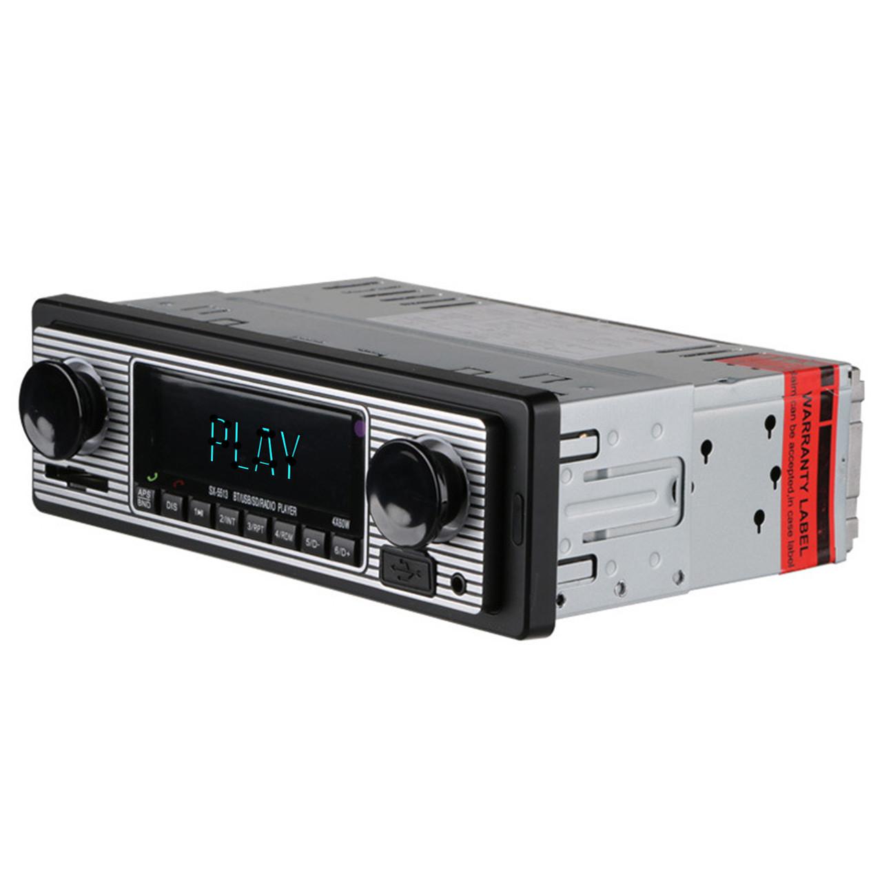 Автомагнитола Lesko 5513 1DIN bluetooth USB microSD LED экран ответ на звонки 60 Вт (2730-7524)