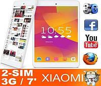 НОВИНКА! Планшет Xiaomi 3G 2 SIM 6 Ядер Звонящий 1 GB +8 GB Ксаоми
