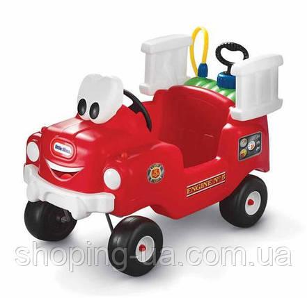 Детская каталка  Пожарная машина Little Tikes 616129, фото 2