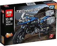 """Конструктор Lepin 20032 (Аналог Lego Technic 42063) """"Приключения на BMW R1200 GS"""" 603 детали, фото 1"""