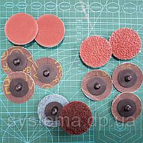 3M 984F Roloc Cubitron II - фібровий Шліфувальний круг для зачистки зварних швів д. 50 мм, Р 36+, фото 2