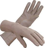 Негорящие перчатки Бундесвер кожаные с технологией Nomex