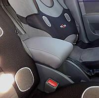 Подлокотник на Шевроле Лачетти 1.6 для Chevrolet Lacetti (Серый Гладкий)