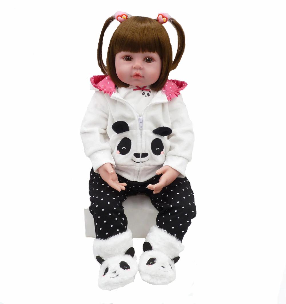 Кукла Reborn Baby 48 см Панда