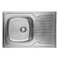 Кухонная мойка из нержавейки ULA 7203 ZS Decor ULA7203DEC08