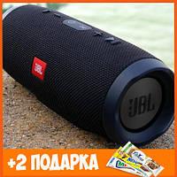 Портативная Bluetooth колонка JBL charge 3 черная ЖБЛ чардж колонка блютуз акустика ЖБЛ