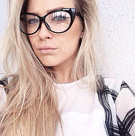 Имеджевые очки кошечки.