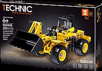 """Конструктор QL0408 (Аналог Lego Technic) """"Погрузчик экскаватор"""" 302 детали, фото 1"""