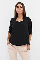 S, M, L, XL / Стильна жіноча блузка Rina, чорний