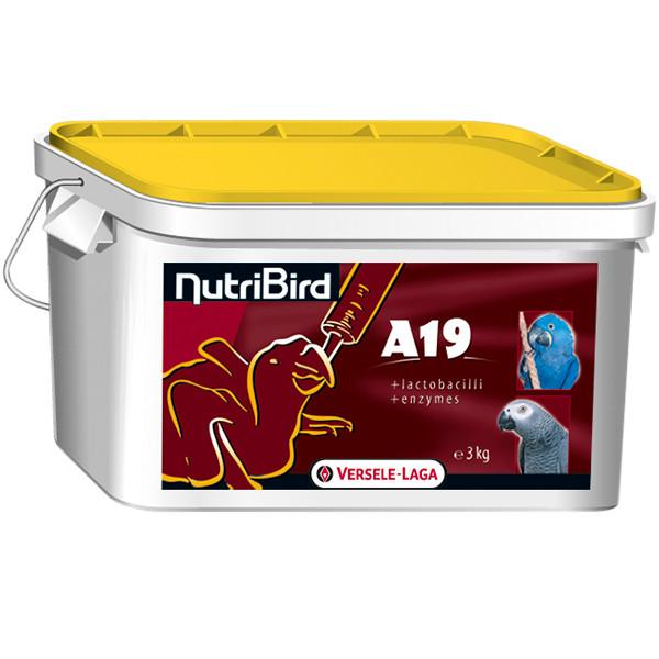 Молоко для пташенят великих папуг Versele-Laga NutriBird A19 For Baby Birds 3 кг