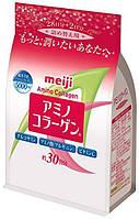 MEIJI Низкомолекулярный амино-коллаген с аргинином, глюкозамином и витамином С, 214  г на 30 дней