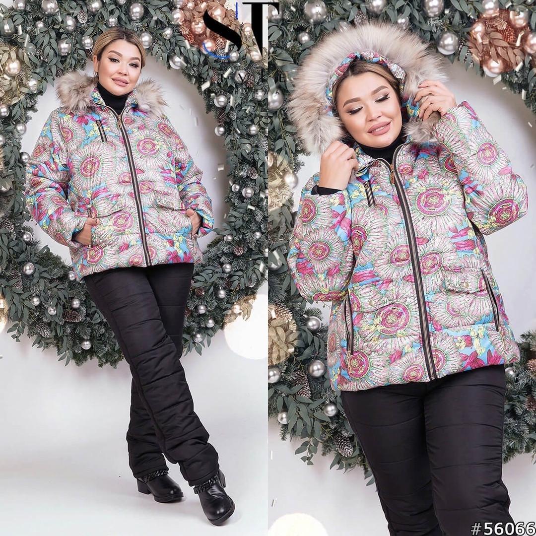 Женский лыжный костюм опк5961