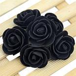 Головка троянди з фоамирана 2.5 див., фото 7