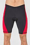 Мужские велошорты с памперсом Rough Radical Racer Pro (original), велоштаны, велоодежда, велосипедки, фото 2