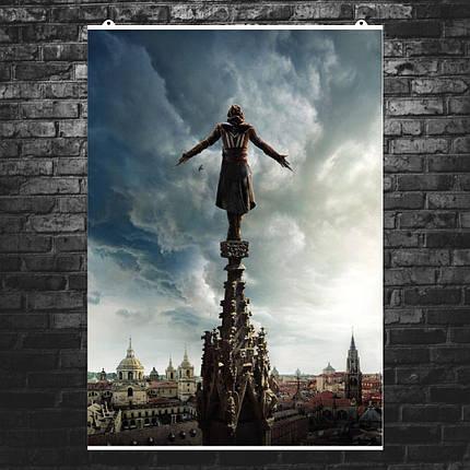 "Постер ""Assassins Creed. Прыжок веры"". Кредо Асассина. Размер 60x42см (A2). Глянцевая бумага, фото 2"