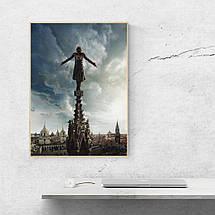 "Постер ""Assassins Creed. Прыжок веры"". Кредо Асассина. Размер 60x42см (A2). Глянцевая бумага, фото 3"