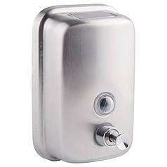 Флакон для жидкого мыла (хром) 800 мл GF Italy (CRM)/S- 405-8 GFCRMS4058