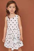 Симпатичне літнє плаття з милим малюнком HM для дівчинки