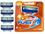 Касети для бритя Gillette Fusion Power 4 шт китай, фото 3