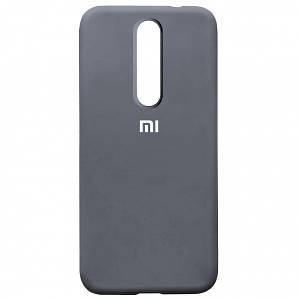 Silicone Case Full for Xiaomi Redmi 8 Lavander Grey