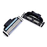 Сменные кассеты для бритья Gillette Mach 3 8 шт китай, фото 3