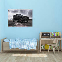 "Постер ""Mercedes-Benz Gelandewagen"". Плакат №2. G-Wagen, Гелендваген, Гелик. Размер 60x43см (A2). Глянцевая бумага, фото 3"