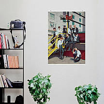 "Постер ""Stray Kids"", SKZ, кпоп, плакат №4. Размер 60x43см (A2). Глянцевая бумага, фото 3"