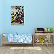 "Постер ""Stray Kids"", SKZ, кпоп, плакат №4. Размер 60x43см (A2). Глянцевая бумага, фото 2"