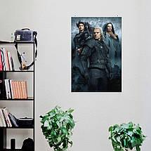 "Постер ""Ведьмак, Witcher"", плакат по сериалу №2. Размер 60x41см (A2). Глянцевая бумага, фото 3"