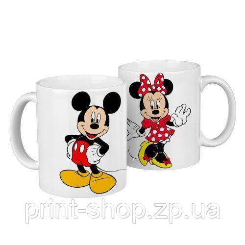Чашки парные Микки / чашки на подарок